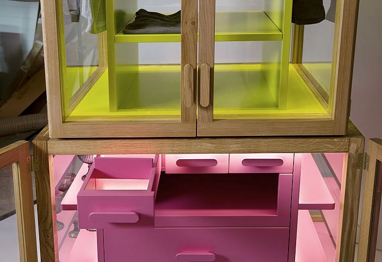transparent showcase cabinets