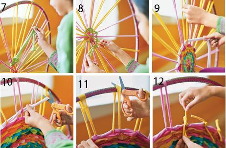 master-class on the hoop of T-shirts with their own hands