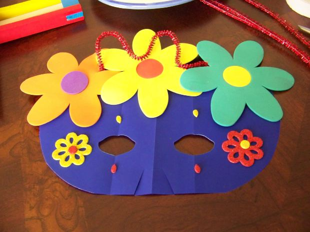ideas for crafts with children in 4 years