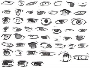 How to draw a person's eyes, the face of a picture in stages. We study drawing with children.