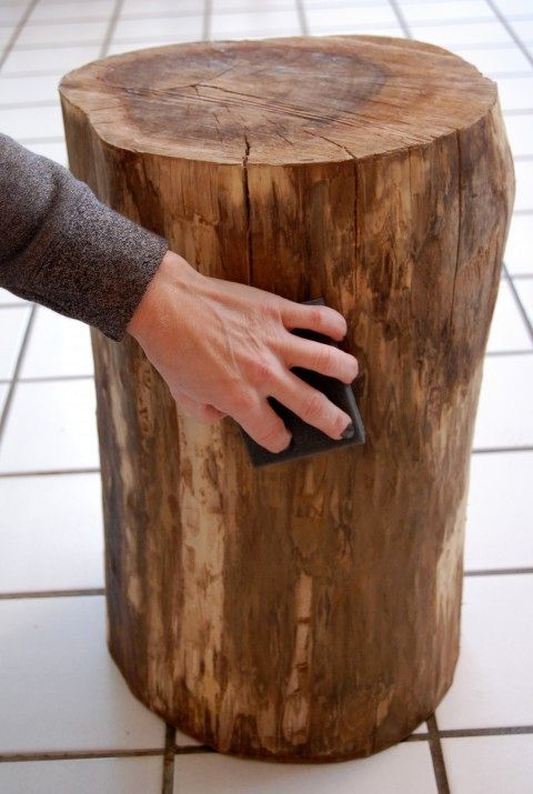 How to make a stump 04 table