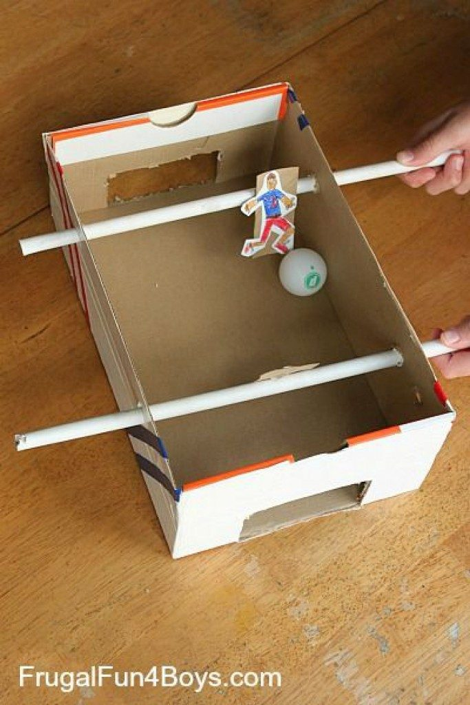 How to make a box. Crafts from the boxes