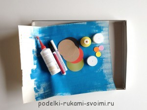 How to make a board game with your own hands for children from 3 years old 1