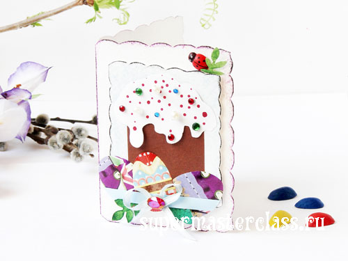 How to make a card for Easter: a master class with photos