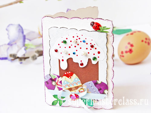 How to make a card for Easter: photo