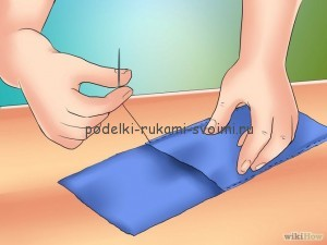 How to make a pencil case yourself
