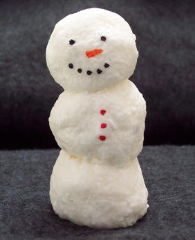 "how to make a gift with their own hands - soap ""snowman"". Winter work"