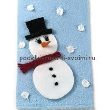 how to make a snowman winter handmade articles with children own hands (1)