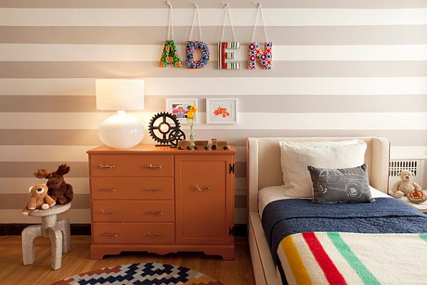 How to decorate a nursery with your own hands.