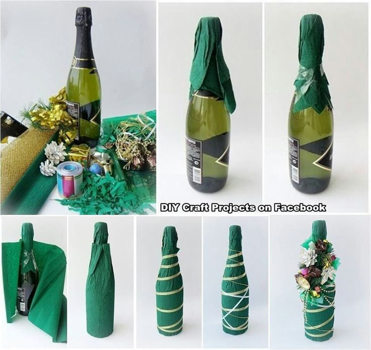 how to pack a bottle in corrugated paper