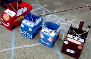 Светкавица makvin кола с ръцете си с изваждането от кутията