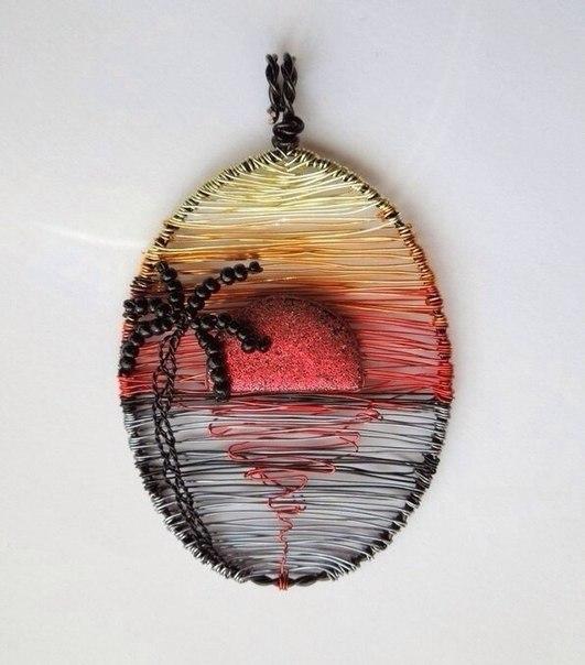 Billeder fra wire og perler