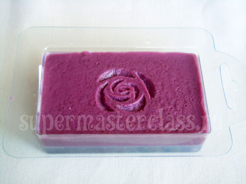 Soap carving: master class