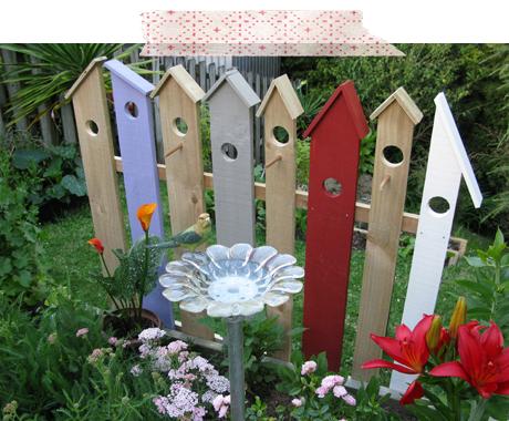 dekorative hegn for fugle