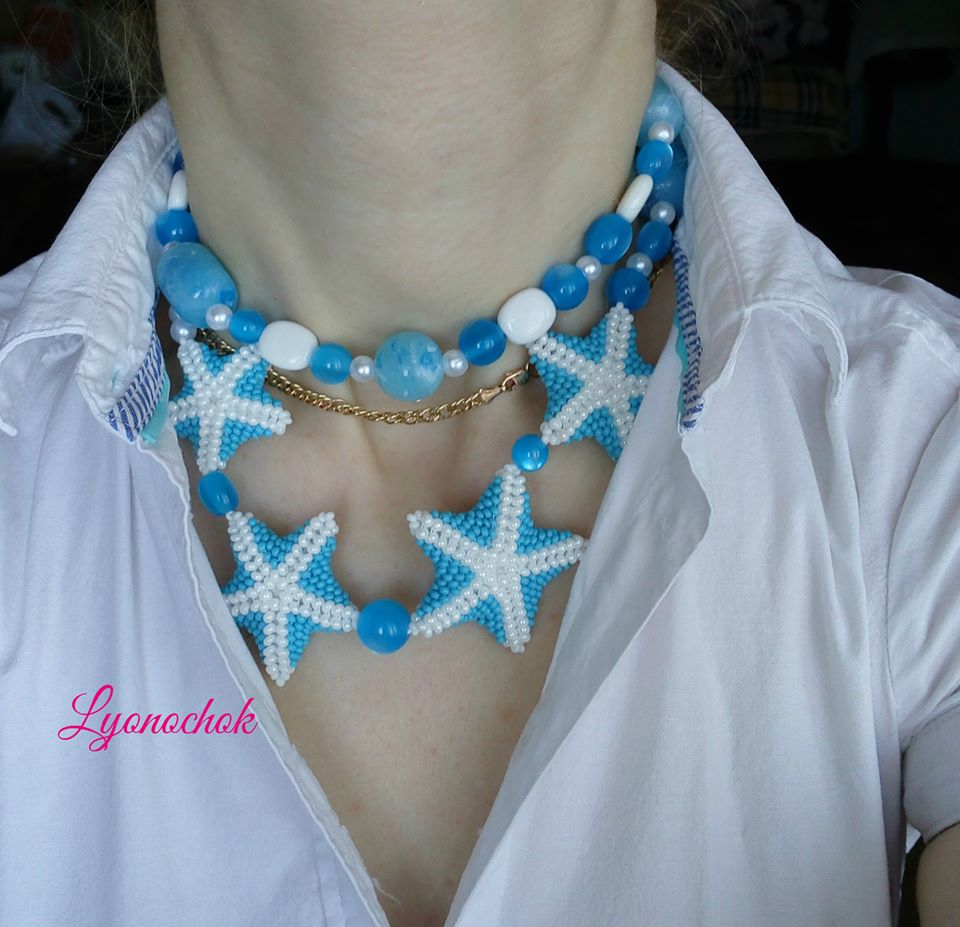 Necklace with own hands (3)