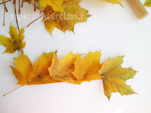 How to make a crown of leaves with your own hands