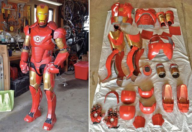 ready-made iron man suit
