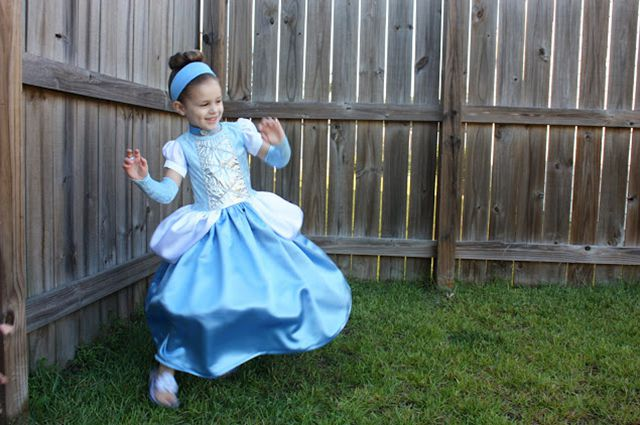New Year's costume of a princess