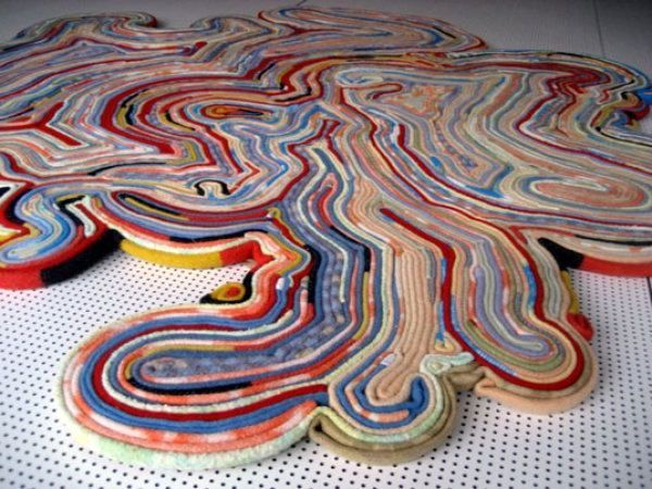 carpet from a blanket