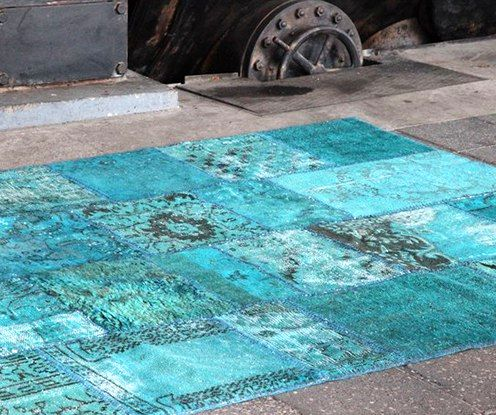 carpet from an old carpet with your own hands