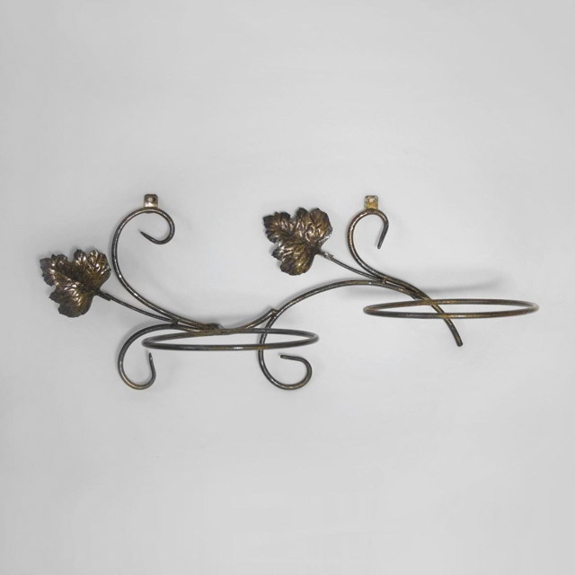Forged flower pot stands