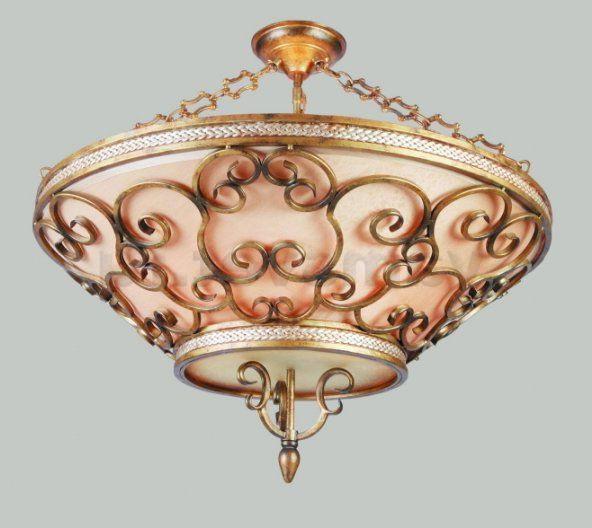 Shod chandelier - interior decoration