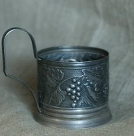 Shod cup holder - for interior in vintage style