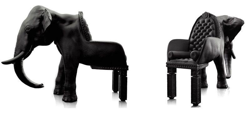 крісла у вигляді тварин - слон