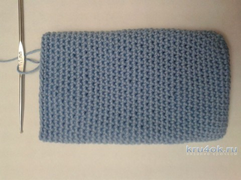 Pouch for the phone crocheted. Master class from Flandena Tatyana knitting and knitting patterns