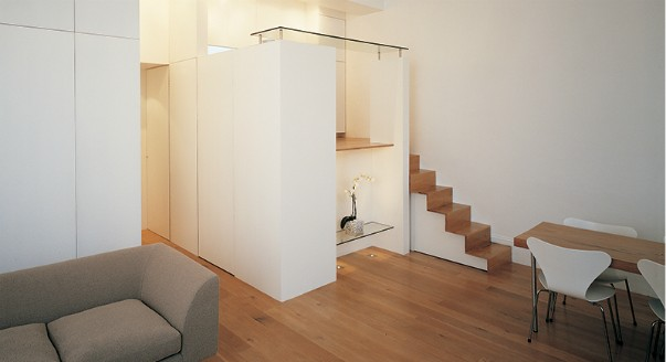 Design of a small London apartment