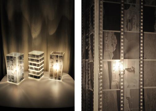 fixtures with photographic film