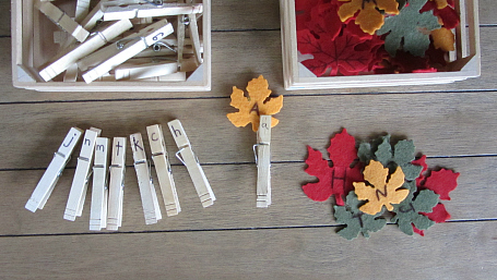 leaf-letter-match-with-clothes-pins-