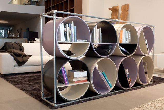 paper furniture - cellulose shelving