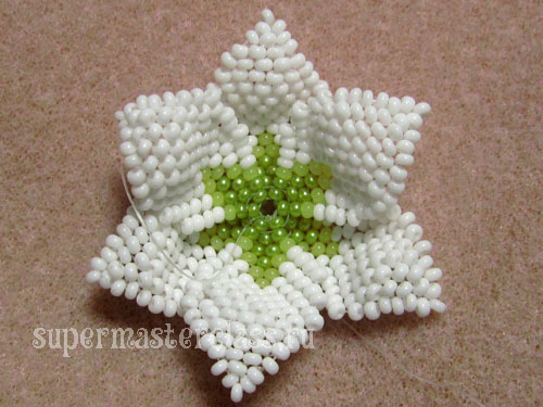 Beaded Lilies: Step by Step