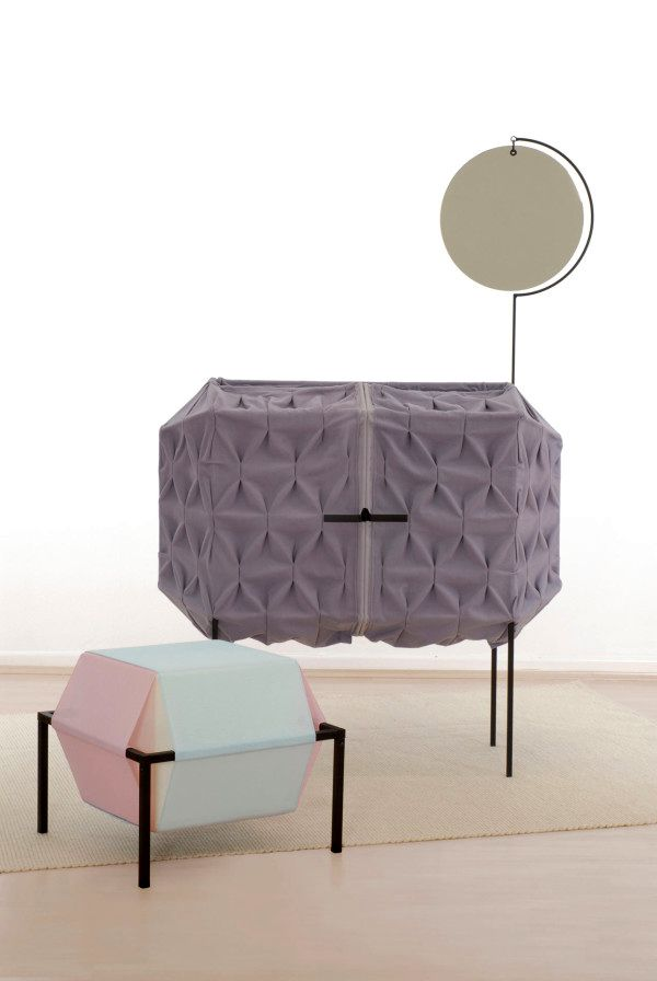 furniture from fabric Meike Harde