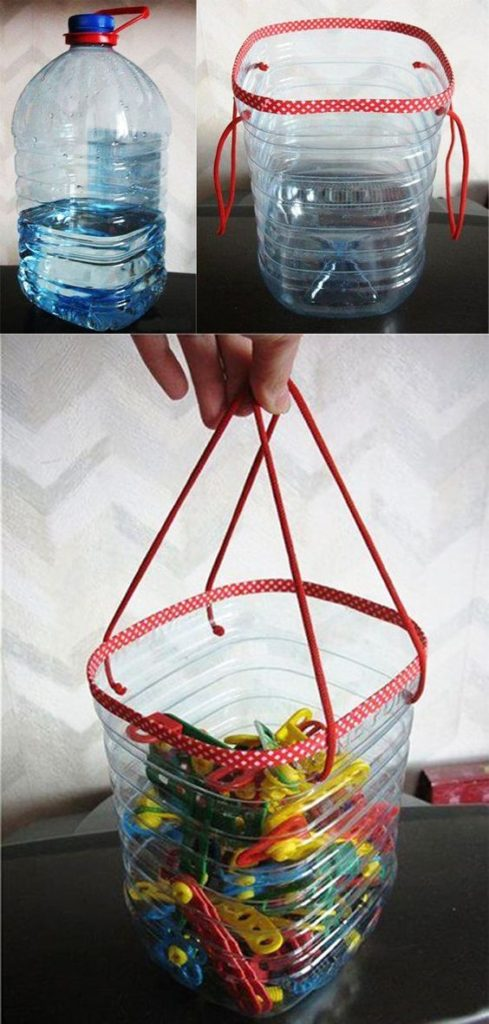 BEST IDEAS. What can be done from plastic bottles?