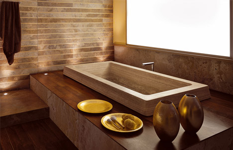 Luxurious bath from Vaselli