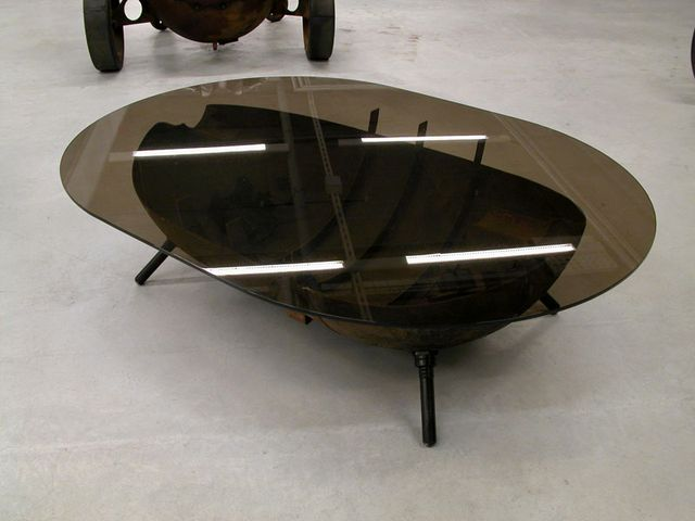furniture from mines - a coffee table