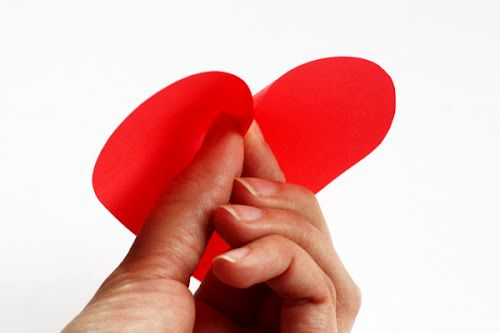 master-class bulk hearts from paper - paste