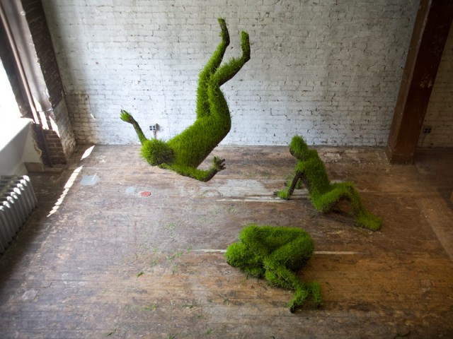 sculptures from plants, Mathilde Roussel-Giraudy