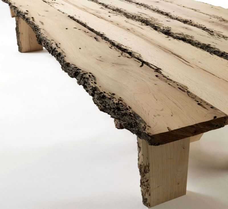 Furniture from a natural tree