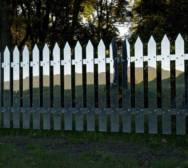 mirror fence by one's own hands