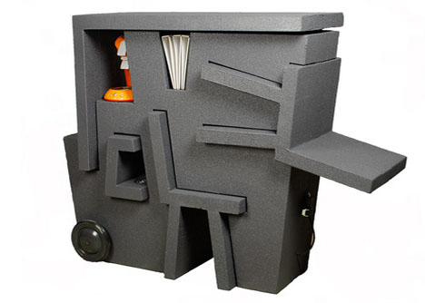 compact office furniture Tim Vinke