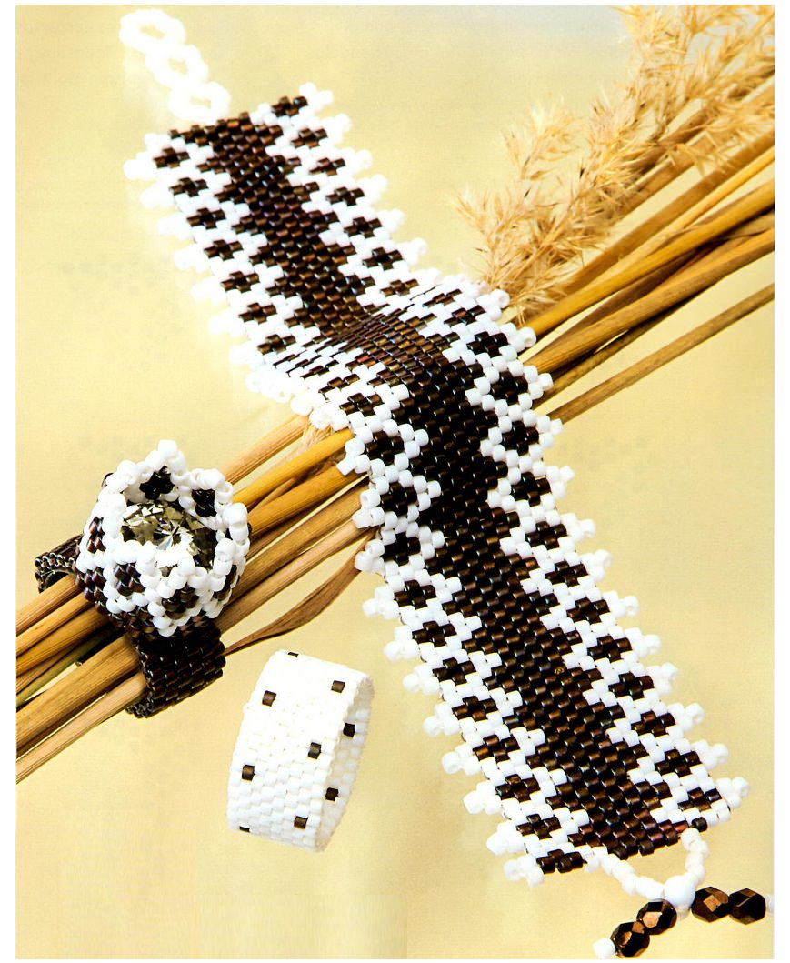 Poppy of beads: weaving schemes and step-by-step master class 15