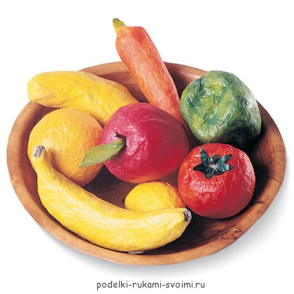 dummy of vegetables and fruits with own hands (1)