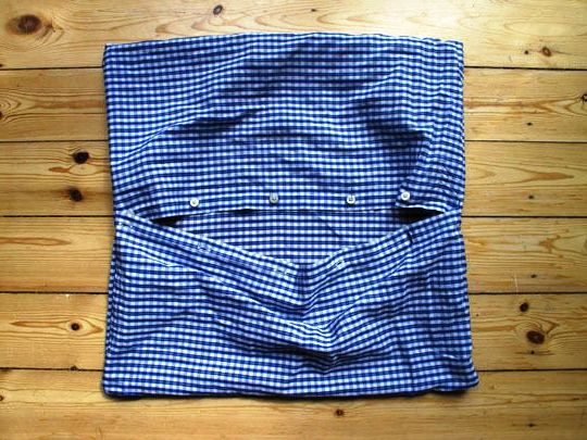 master-class pillowcase with a shirts