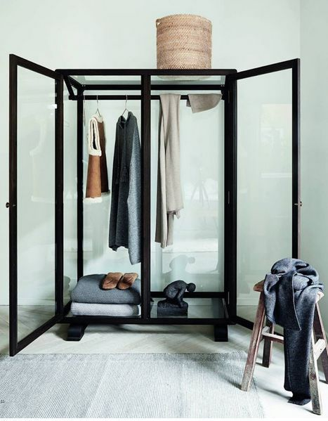 transparent wardrobe for clothes