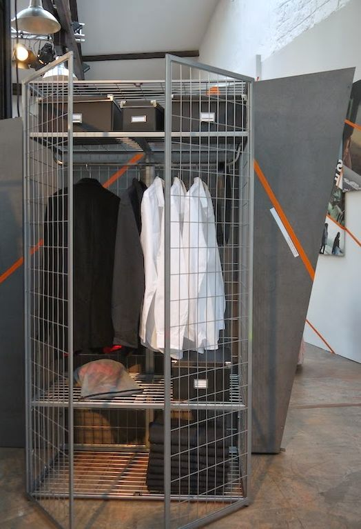 wardrobe cage for clothes