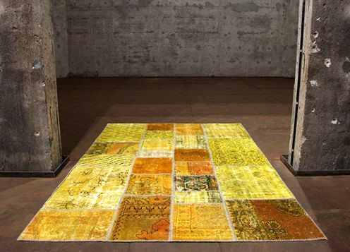 a new carpet from an old carpet with your own hands