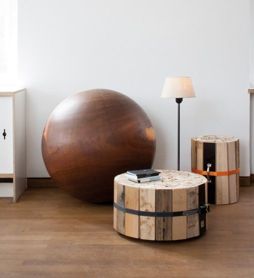 Wooden coffee table from Oliver Conrad